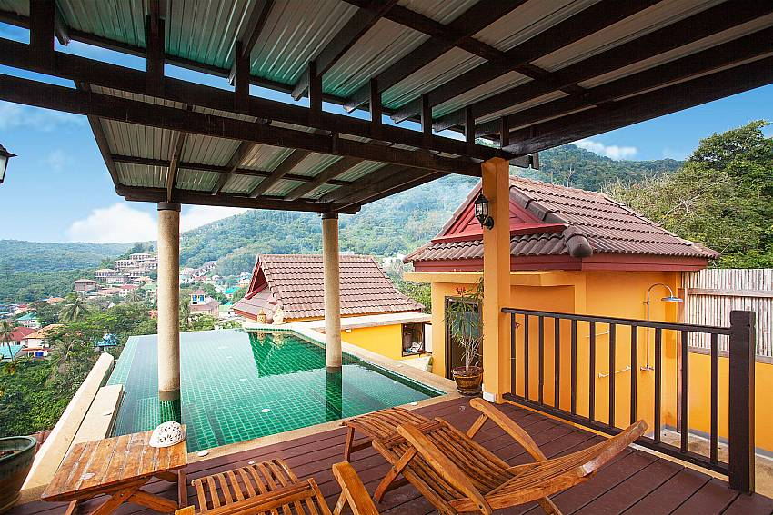 Private pool on top of Baan Pa Nom in Karon Phuket