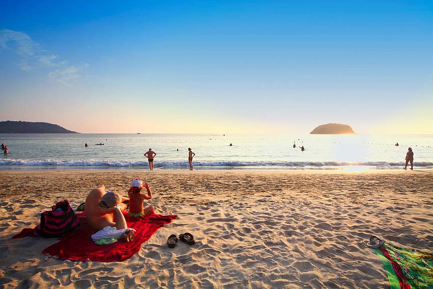 Enjoy your day at the beautiful Karon beach close to Baan Pa Nom Phuket