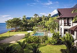 Baan Hat Kai Mook | 4 Bed Beachfront Pool Villa Sunset Coast Koh Chang