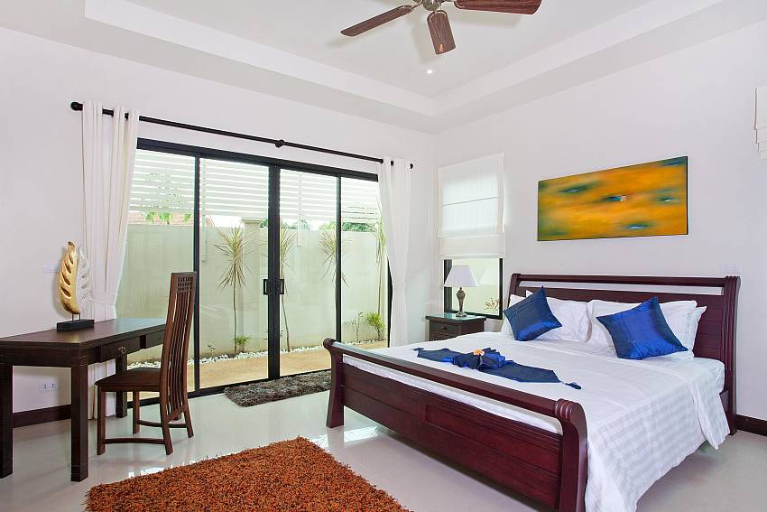 Third Double-bed Bedroom-villa-kaimook-andaman_6-bedroom_pool-villa_nai-harn_phuket_thailand