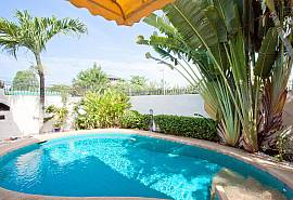 Nai Mueang Noi | 2 Betten Pool Villa in zentraler Lage in Pattaya City