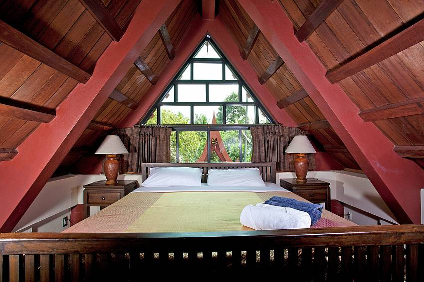 Bedroom 4_laemset-lodge_villa_6-bedroom_laem-set-beach_koh-samui_thailand