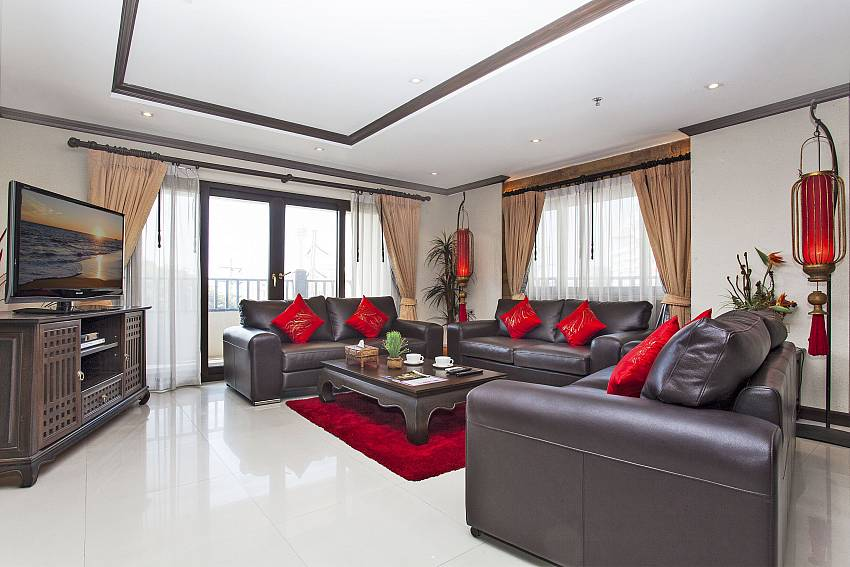 Living Room-Nirvana Place_Pattaya_Thailand