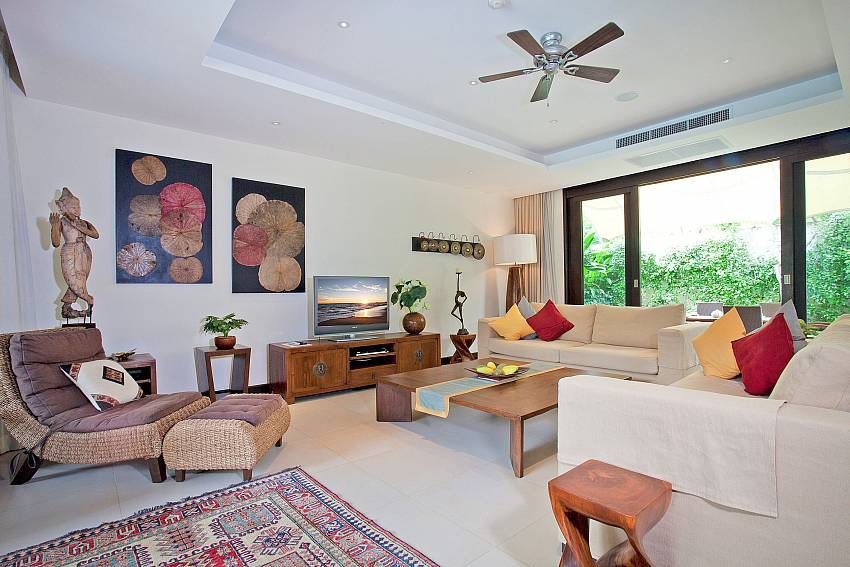 Very comfortable Living Room_maan-tawan_4-bedroom_private-pool-villa_layan-beach_phuket_thailand