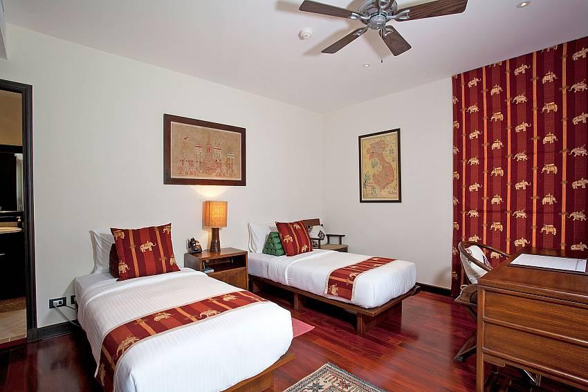 Twin Bedroom_maan-tawan_4-bedroom_private-pool-villa_layan-beach_phuket_thailand