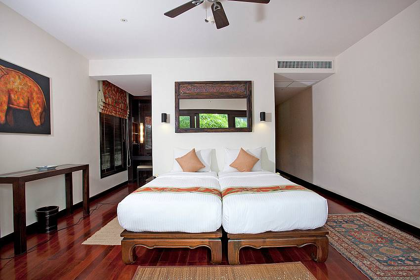 Second Twin bedroom_maan-tawan_4-bedroom_private-pool-villa_layan-beach_phuket_thailand