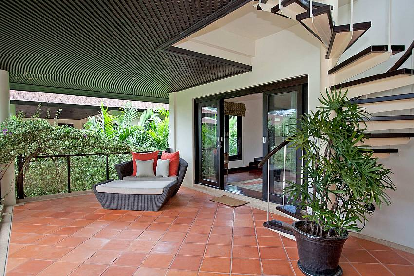 First floor coverd Balcony_maan-tawan_4-bedroom_private-pool-villa_layan-beach_phuket_thailand