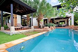 Stunning 4 Bedroom Pool Villa With Large Garden Near Layan Beach, Bang Tao, Phuket