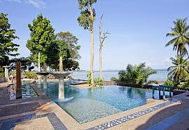 Krabi Beachfront Resort Oceanside Suite Nr.601 | 1 Bett Suite in Krabi