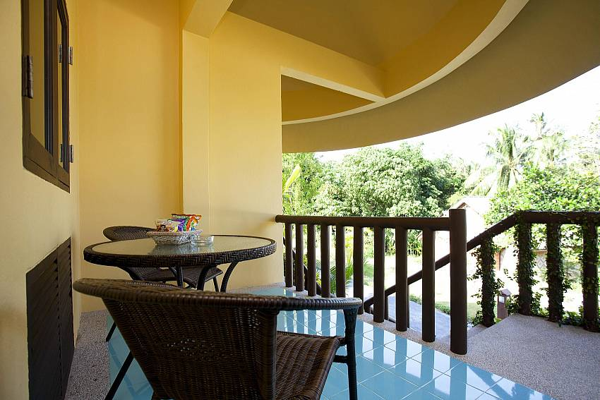 Garden View Balcony_krabi_beachfront-resort_family-villa_suite-401_2-bed-suite_krabi_thailand