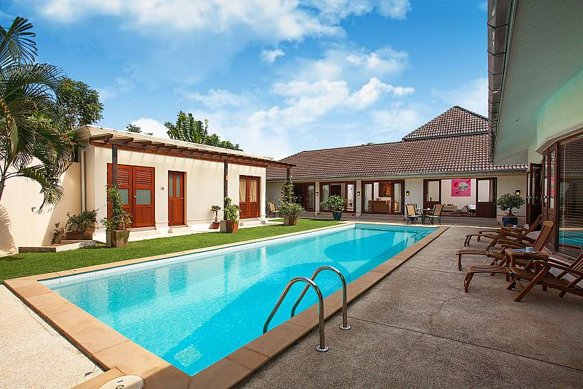 Complete privacy at your own pool in Red Mountain Villa Central Phuket