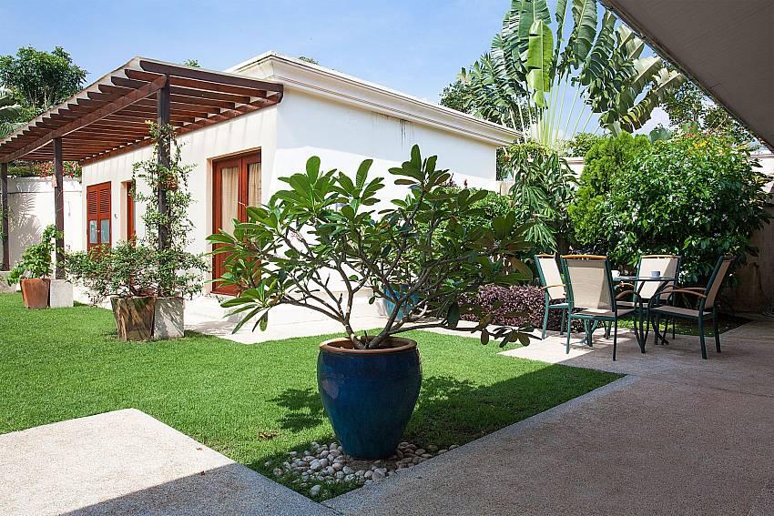 Lush greenery around your 4 bedroom Red Mountain Villa Phuket
