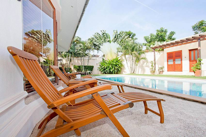 Loungers and Pool_red-mountain-villa_4-bedroom_private-pool_kathu_phuket