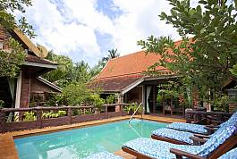 2 Bedroom Thai Style Pool Villa With Tropical Garden Near Ao Nang Krabi