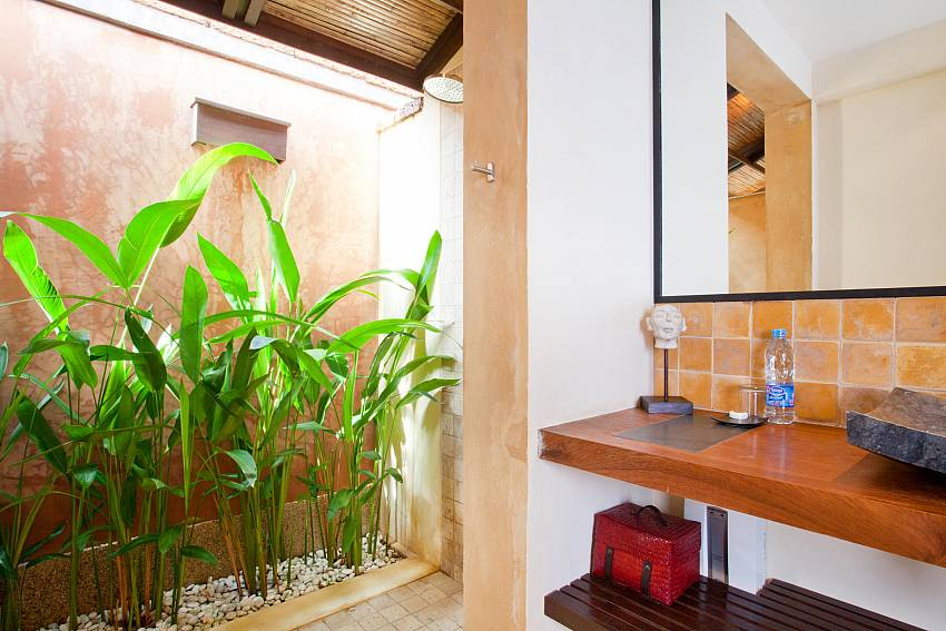 Outside showering_villa-nova-2-bed-with-private-pool-near-klong-khong-beach-koh-lanta