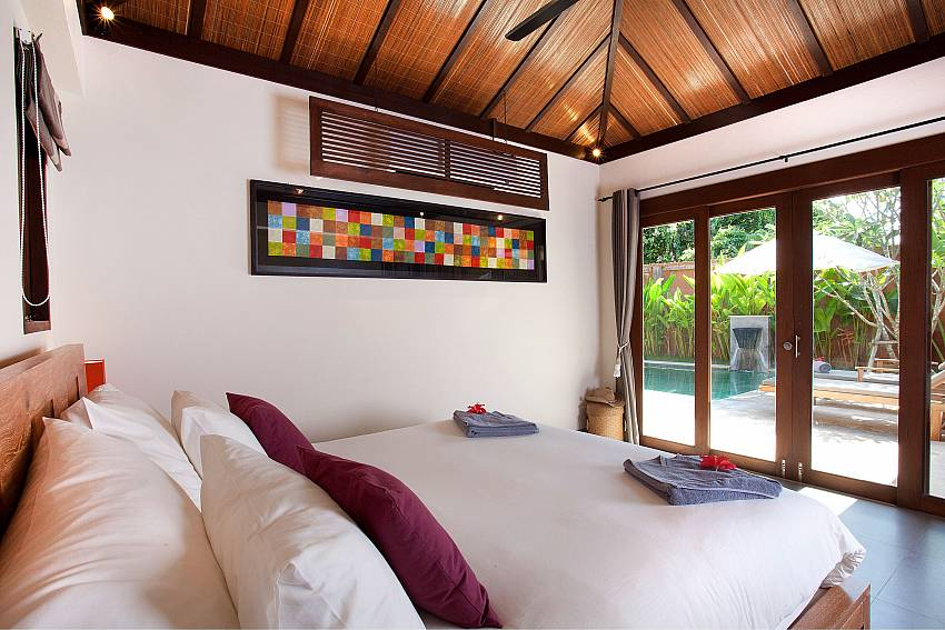 2nd Poolside Bedroom_villa-dao_2-bedroom_private-pool_klong-khong-beach_koh-lanta_thailand