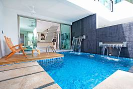 2 Betten Beachfront Pool Villa am Friendship Beach in Chalong Phuket