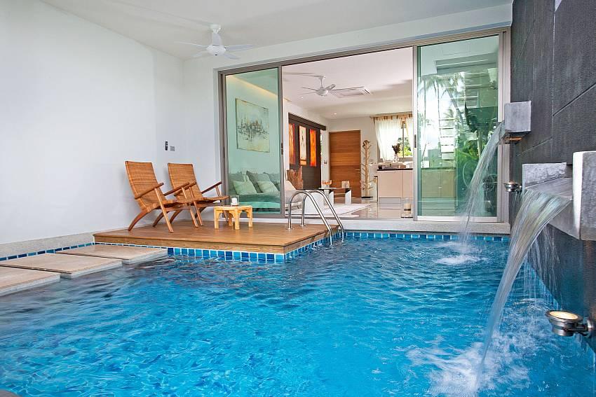 Private Swimming pool at Friendship Villa No.7 in Phuket
