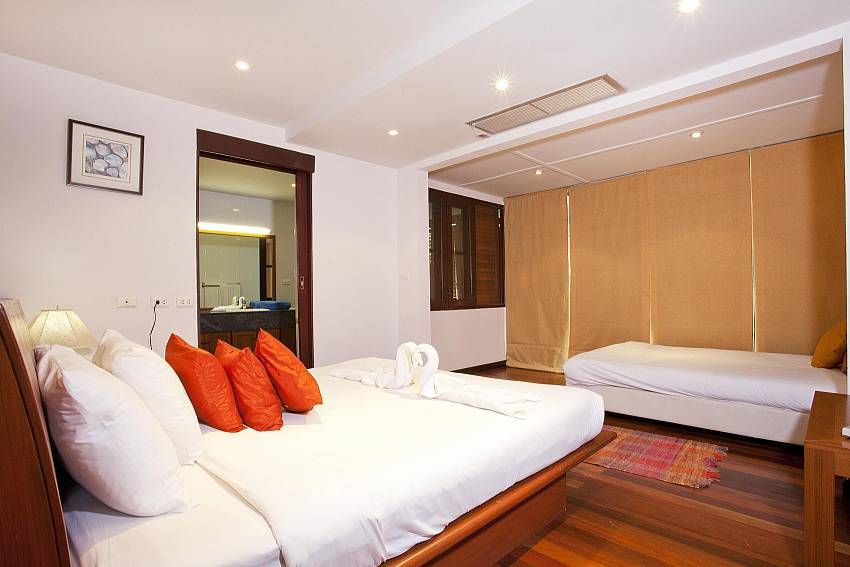 2. big bedroom at the Chai Nam Condo by the Beach in West Phuket