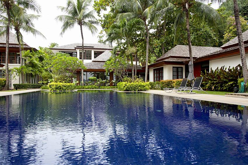 Communal pool for guest at 2 bedroom Chai Nam Condo in West Phuket