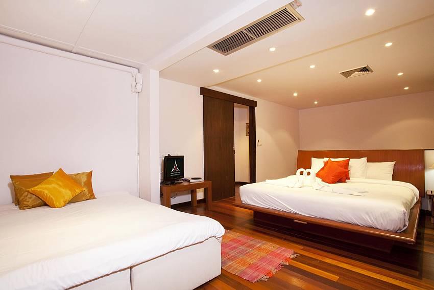 Second Bedroom 2 beds_chai-nam-condo_2-bedroom_beachfront-apartment_bang-tao_phuket