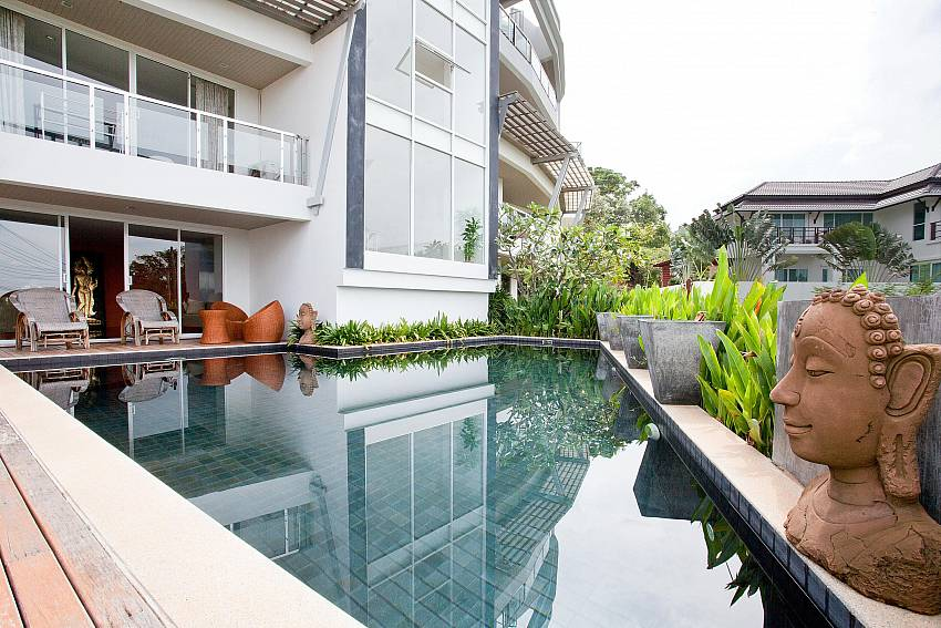 Quiet Communal Pool_long-beach-mountain-view-1b_2-bedroom-apartment_koh-lanta_krabi_phuket_thailand