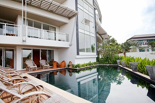 Rent Koh Lanta Apartment: Long Beach Mountain-View Apartment 2B, 2 Bedrooms. 5494 baht per night