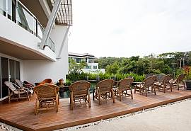 Long Beach Sea View Nr. 3B | 2 Betten Meerblick Kondo in Koh Lanta