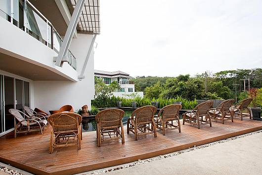 Rent Koh Lanta Apartment: Long Beach Sea-View Apartment 3B, 2 Bedrooms. 6942 baht per night