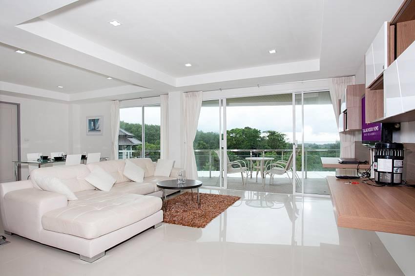 Living Room_long-beach-sea-view-3b_2-bedroom-apartment_sea-view_koh-lanta