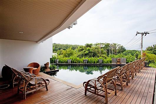 Rent Koh Lanta Apartment: Long Beach Sea-View Penthouse 4A, 2 Bedrooms. 9115 baht per night