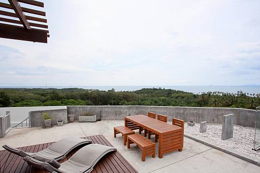 Rent Koh Lanta Apartment: Long Beach Sea-View Penthouse 4A, 2 Bedrooms. 6218 baht per night