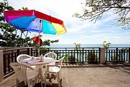 Потрясающая панорамная вилла с видом на море с 1 спальней в Клонг Нин