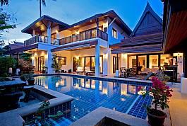 5+1 Bedroom Pool Villa on Priavte Estate at Laem Set, Koh Samui