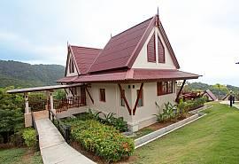Baan Kiaow | 2 Betten Haus auf dem Hügel der Kantiang Bucht Koh Lanta