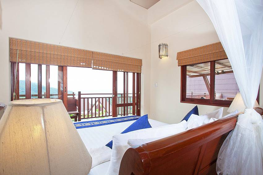 Bedroom Views_baan-gaan_2-bedroom-villa_shared-infinity-pool_sea-views_ba-kantiang_koh lanta_thailand
