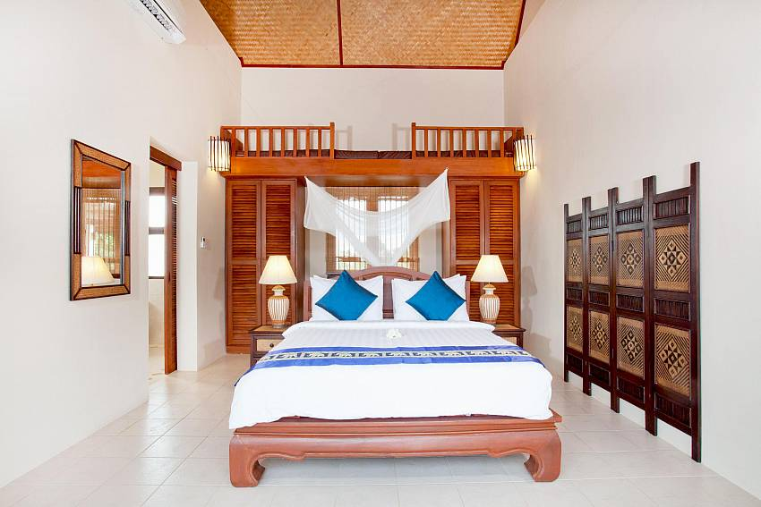 Bedroom 2_baan-gaan_2-bedroom-villa_shared-infinity-pool_sea-views_ba-kantiang_koh lanta_thailand