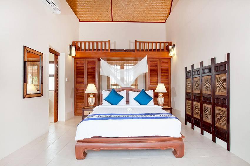 Bedroom 2_baan-gaan_2-bedroom-villa_shared-infinity-pool_sea-views_ba-kantiang_koh lanta_thailand
