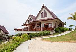 บ้านส้ม-บ้านให้เช่า 2 ห้องนอน ที่พักเกาะลันตา อ่าวบากันเตียง มีสระว่ายน้ำ รายวัน