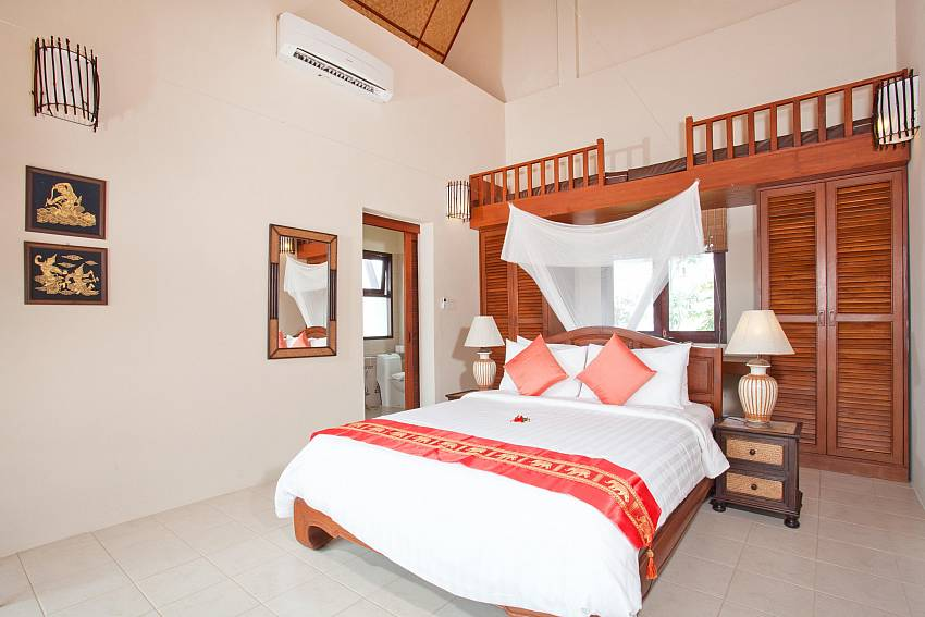 Bedroom 2_baan-som_2-bedroom-villa_shared-infinity-pool_sea-views_ba-kantiang_koh lanta_thailand