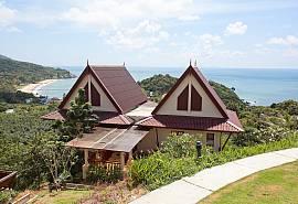 Baan Ruang - 2 спальни - Вилла с великолепным видом на залив в Ко Ланта