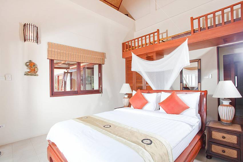 First bedroom Of Baan Ruang