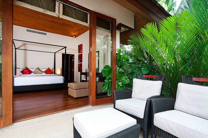 Bang Tao Bali Villa lounge areas inside and outside West Phuket