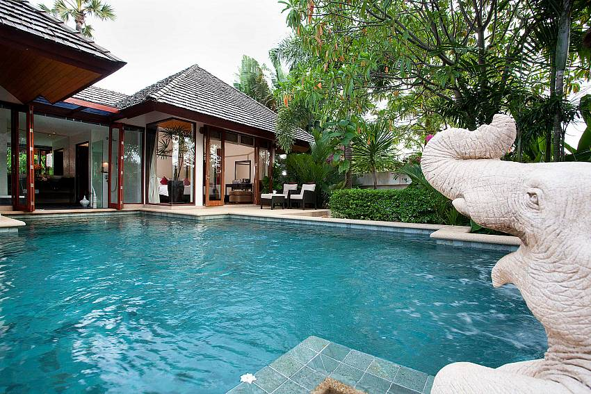 Bedrooms overlook the pool_bang-tao-bali_3-bedroom-villa_private-pool_bang-tao_phuket