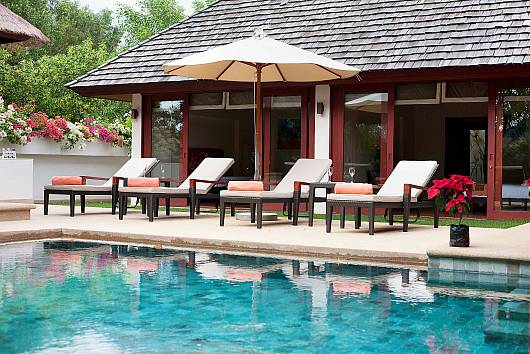 Аренда виллы на Пхукете: Bang Tao Bali Villa, 3 Спальни. 20873 бат в день