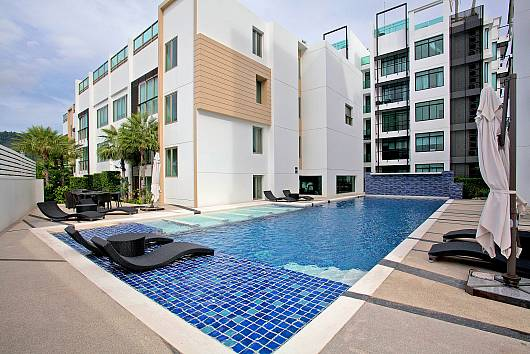 Снять апартаменты на Пхукете: Kamala Chic Apartment, Phuket Luxury Holiday Rentals, 1 Спальня. 3821 бат в день