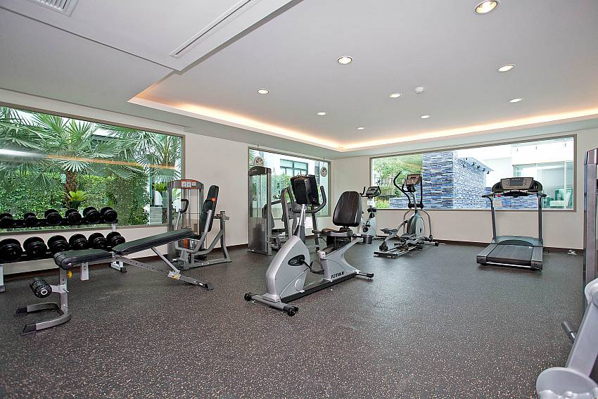 Fitness Centre_kamala-chic_1-bedroom-apartment_shared-pool_kamala-beach_phuket_thailand