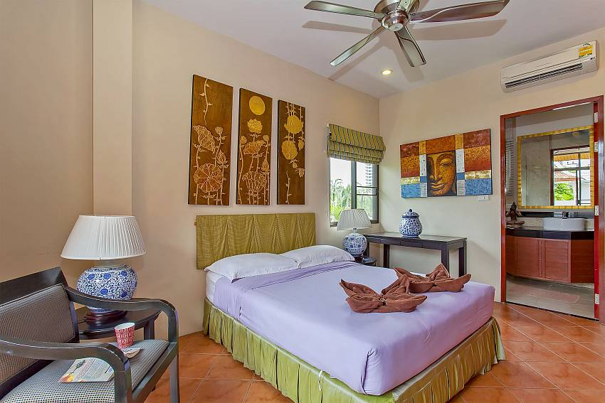 4. double bedroom with attached private bathroom at Sunny Villa in Jomtien Pattaya