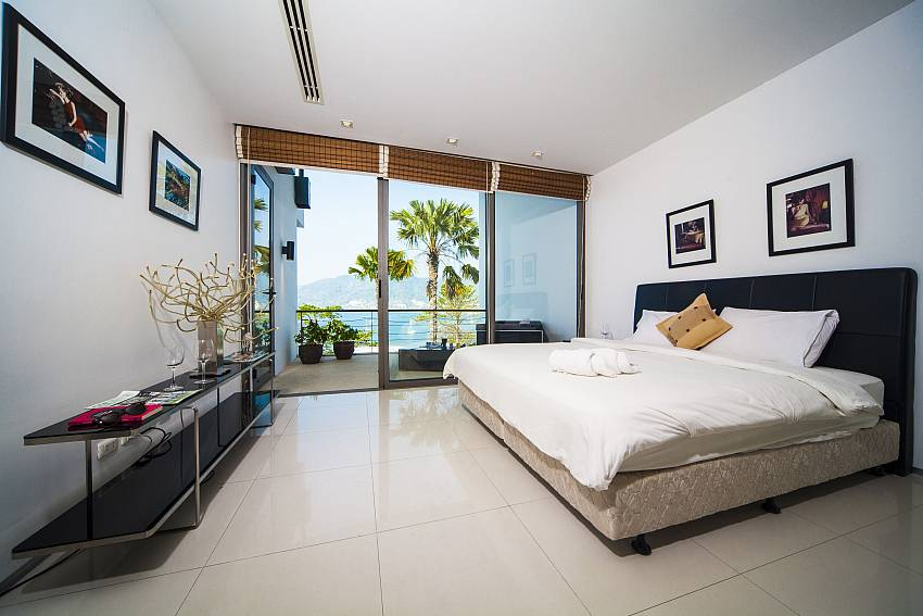 Bedroom see views Of Seductive Sunset Villa Patong (First)