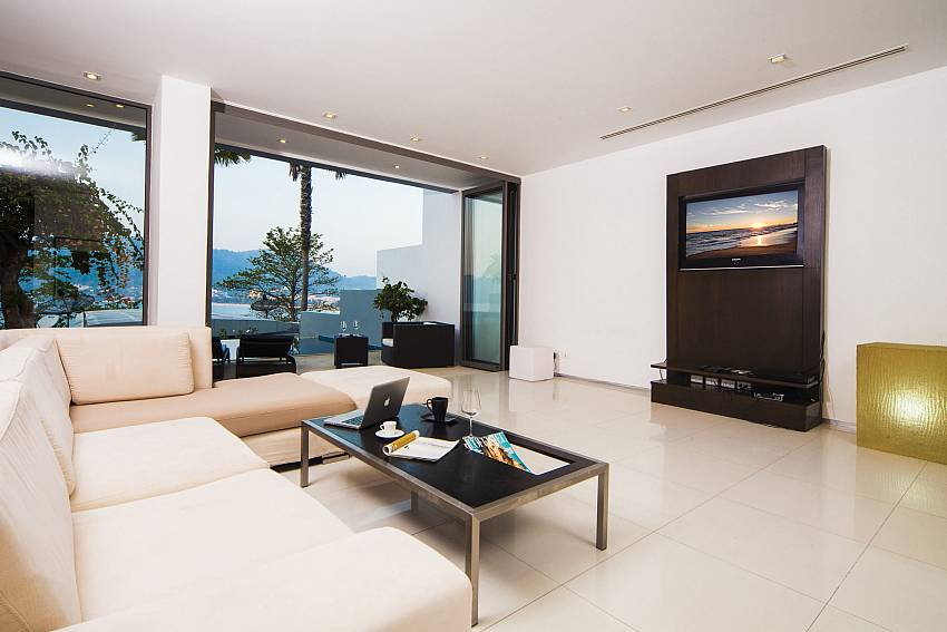 Living room see views Of Seductive Sunset Villa Patong